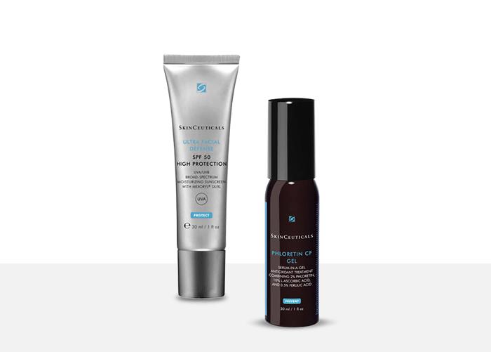SkinCeuticals Ultra Facial Defense SPF50 + Phloretin CF Gel
