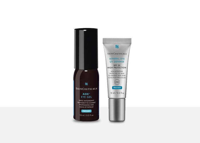 Skinceuticals AOX+ Eye Gel & SkinCeuticals Mineral Eye UV Defense SPF30